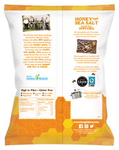 Load image into Gallery viewer, Honey and Sea Salt Popcorn 6x90g