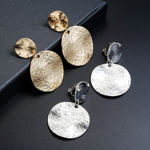 Very high quality gold/silver earrings