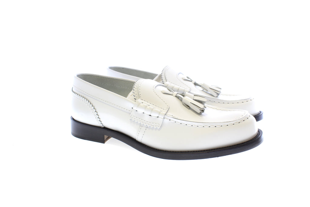 CO1381 WHITE - Collegemoccassin