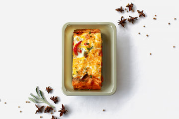 Vegetarian Crustless Quiche