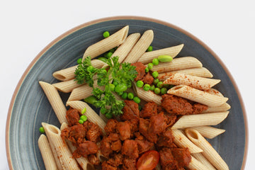 Spicy Beef Chili Penne Pasta