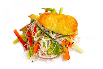Chicken Breast With Asian Slaw