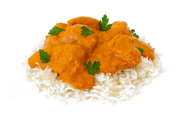 Butter Chicken with Brown Rice