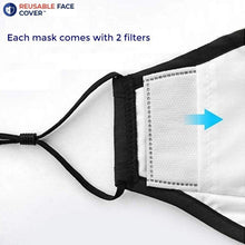 Load image into Gallery viewer, Reusable Multi-Layer Cotton FACE COVERS