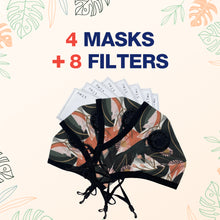 Load image into Gallery viewer, Designer Reusable Multi-Layer Cotton Face Covers - Package Deals