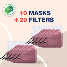 Load image into Gallery viewer, Reusable Multi-Layer Cotton FACE COVERS - 10 Masks