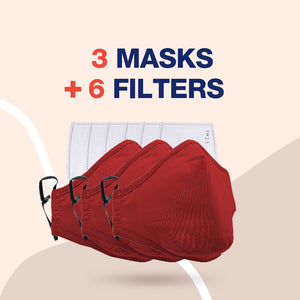 Reusable Multi-Layer Cotton FACE COVERS - Package Deals