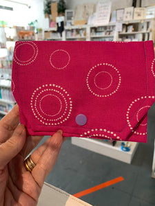 Fabric Purse - card wallet - Pinks - Gemstone Boutique