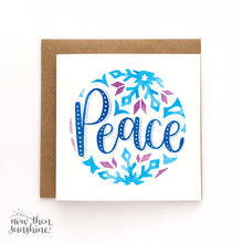 Load image into Gallery viewer, Calligraphy Christmas Cards - Now then Sunshine - Christmas greetings