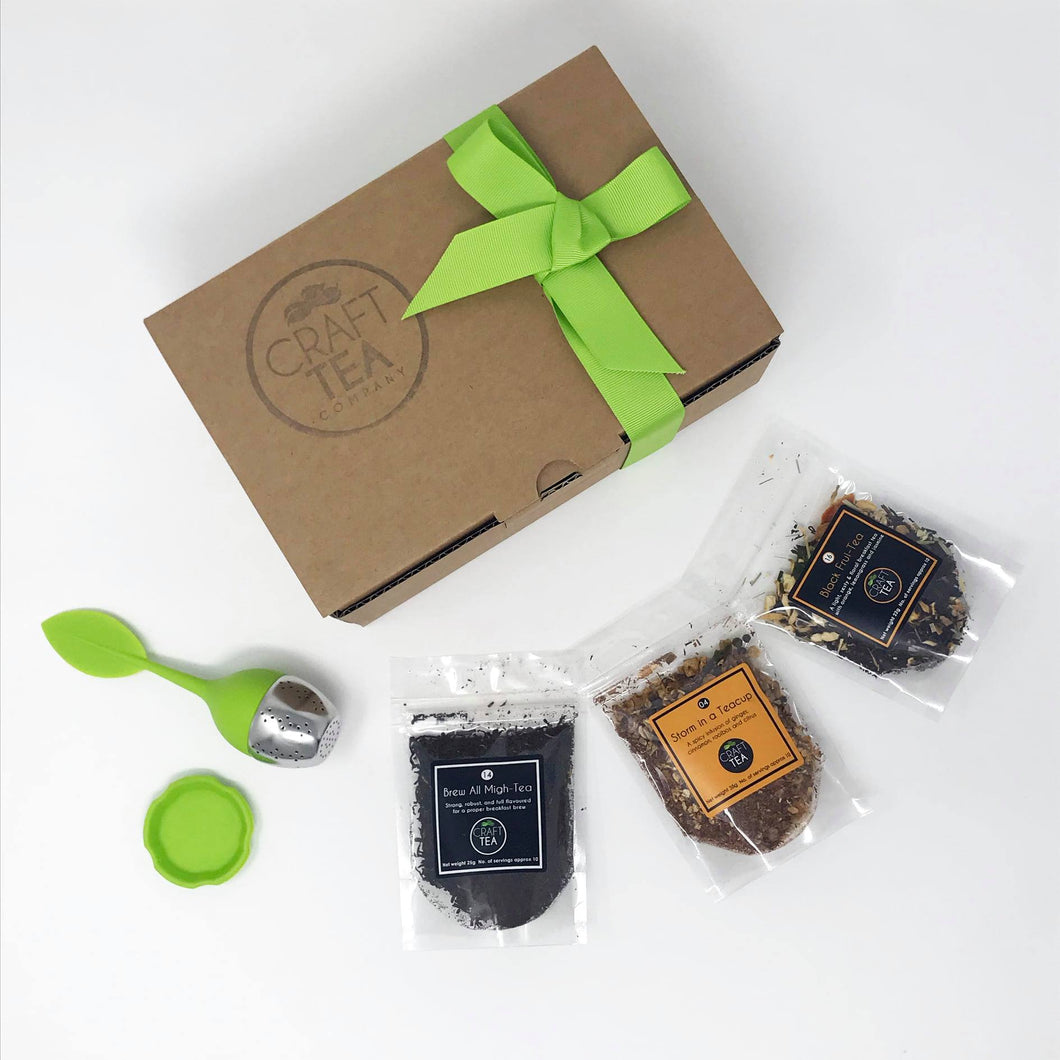 Black Tea Gift Set - Tasty Festive Treat - Craft Tea Company - Tea lovers
