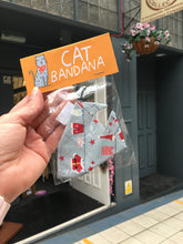 Load image into Gallery viewer, Festive Cat Bandanas - Christmas Cats - Dawny's Sewing Room