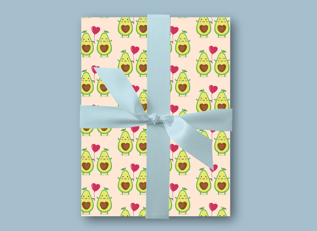 Avocado Gift Wrap - Wrapping Paper - Blush and Blossom Paper