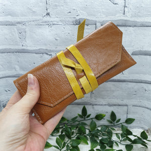 Leather Glasses case - Shadow Crafts - reusable gift idea