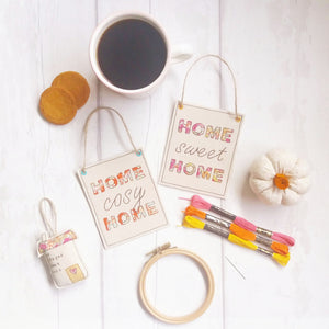 Happy Home Hanging signs - motivational gift - Life's Little Blessings - Home Sweet Home, Home Cosy Home