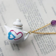 Load image into Gallery viewer, Dolls House Tea pot China Necklace - Urban Magpie - cute gift idea