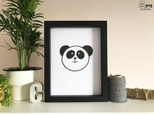 Load image into Gallery viewer, Panda print - A5 print - Hu and Mee - Panda Lovers
