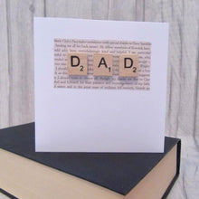 Load image into Gallery viewer, Dad Greetings Card - Sewn by Sarah - birthday, Fathers Day