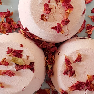 Floral Bath Bombs - Little Shop of Lathers - Self Care - Bath treats