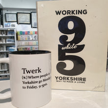 Load image into Gallery viewer, Twerk Mug - Yorkshire Gifts - Funny Dictionary Definition - The Crafty Little Fox