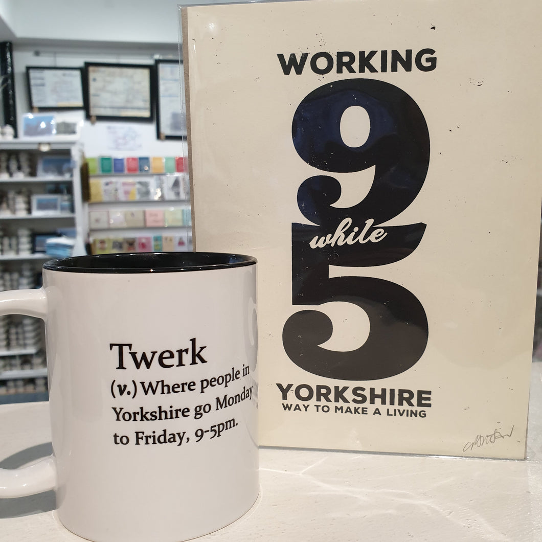 Twerk Mug - Yorkshire Gifts - Funny Dictionary Definition - The Crafty Little Fox