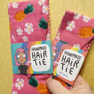Fabric hair ties - Dawnys Sewing Room - Tropical