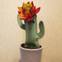 Load image into Gallery viewer, Felt Cactus - fun, funky and cute everlasting plants!