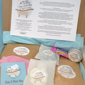 Little Box of Self Care - pampering bath and body gift set - Little Shop of Lathers