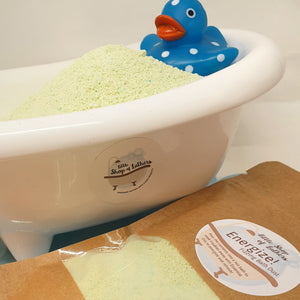 Fizzing Bath Dust - Little Shop of Lathers - Letterbox Gift - Christmas gift ideas - Bath treats