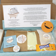 Load image into Gallery viewer, Little Box of Happiness - pampering bath and body gift set - Little Shop of Lathers