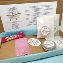 Load image into Gallery viewer, The Big Night In - pampering bath and body gift set - Little Shop of Lathers