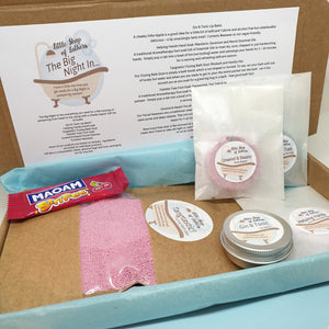 The Big Night In - pampering bath and body gift set - Little Shop of Lathers