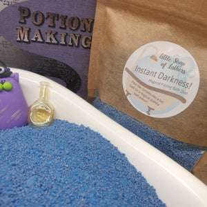 Magical Bath Potion - Little Shop of Lathers - Letterbox Gift - Magical Harry Potter gift - Bath treats