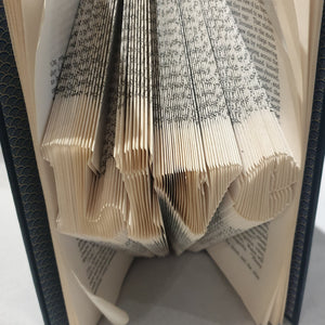 Folded Book Art - Live - Paperweight Products - gift idea