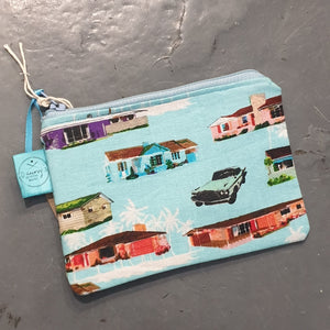 Coin Purse - Dawny's Sewing Room - Fabric zip up pouch