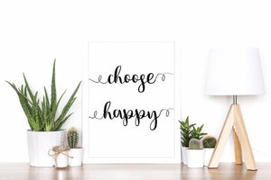 Choose Happy - A4 print - I Heart Henry