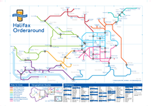 Load image into Gallery viewer, Order Around Pub Map Poster - Halifax Edition - London Underground style Poster - Pub Map