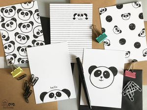 Panda Postcards - Hu and Mee - Pack of 5