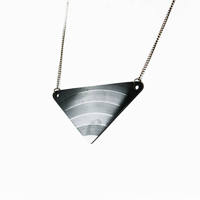 Vinyl Record Necklace - Melodies