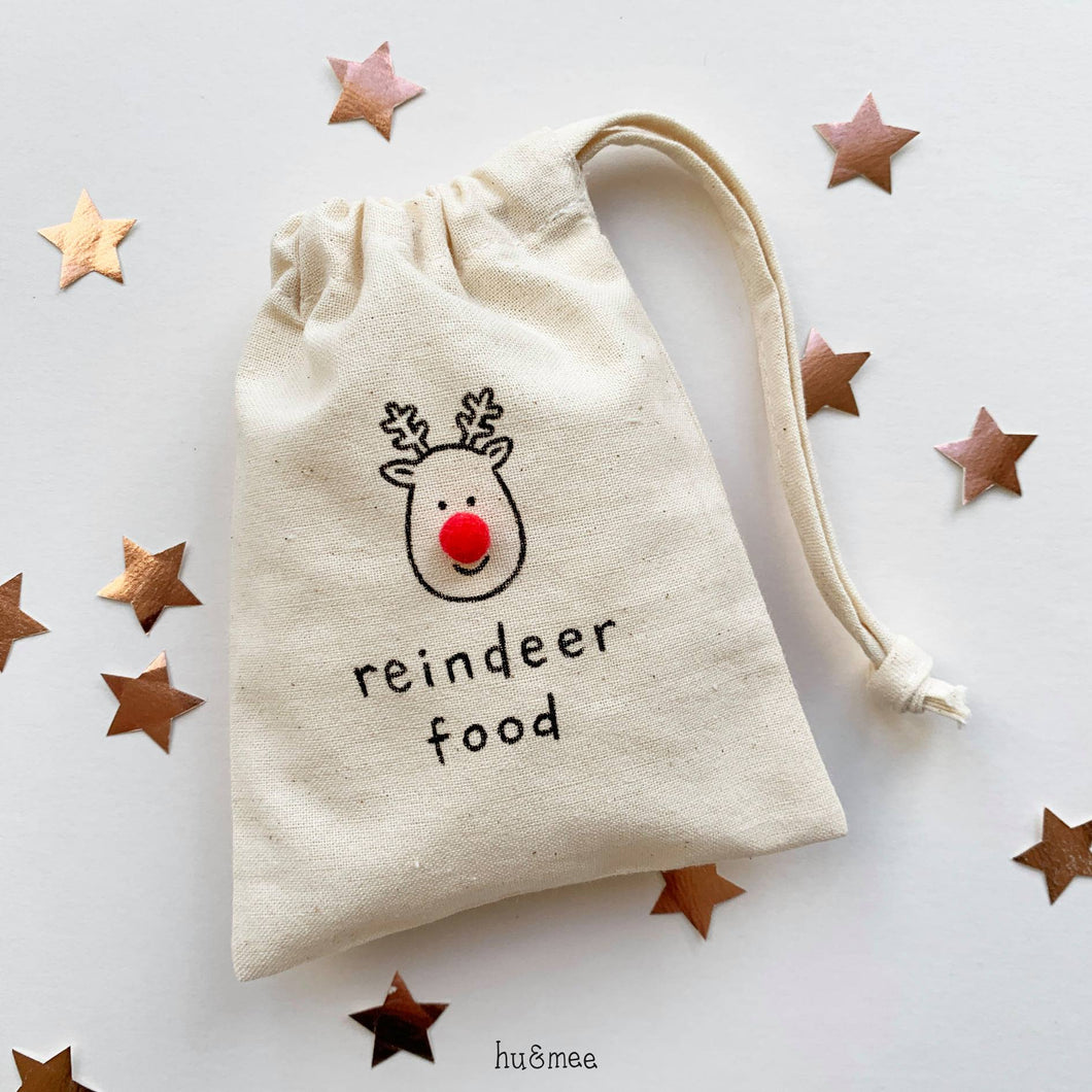 Reindeer Food Pouch - Christmas Eve - Hu&Mee