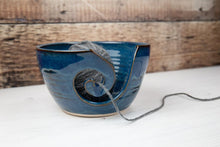 Load image into Gallery viewer, Yarn Bowl - Lagoon Blue - Thrown In Stone