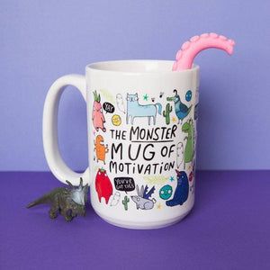 The  Monster Mug of Motivation - Katie Abey - self care - motivational gifts
