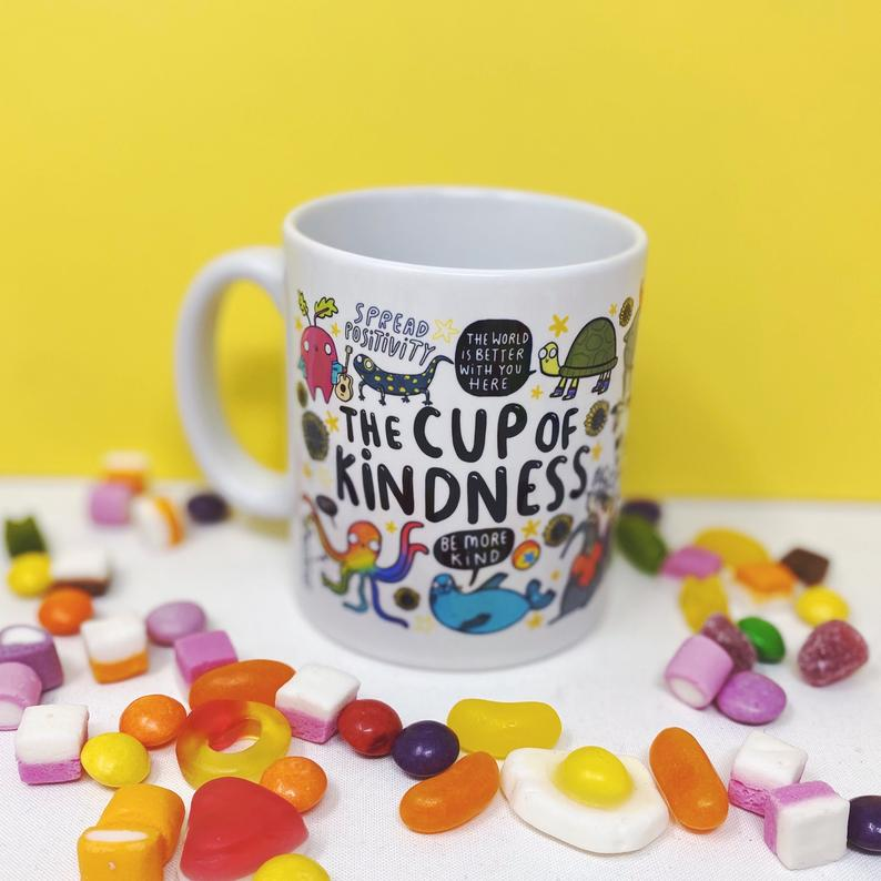 The Cup of Kindness - Katie Abey - Bright and colourful - self care - motivational gifts