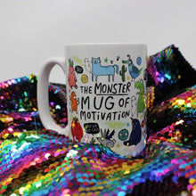 Load image into Gallery viewer, The  Monster Mug of Motivation - Katie Abey - self care - motivational gifts