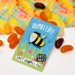 Enamel Pin - Dumblebee - Katie Abey - Harry Potter inspired - Magical gifts