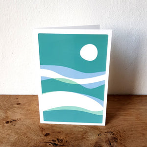 Outdoors themed greetings card - Or8 Design