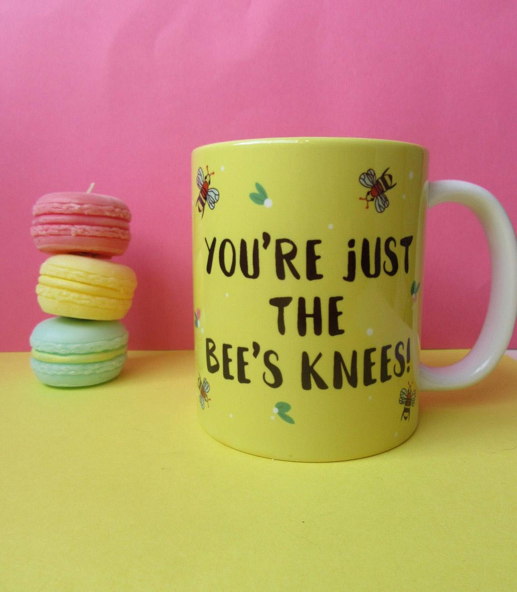 You're Just the Bee's Knees Mug - Thriftbox - motivation - gift ideas