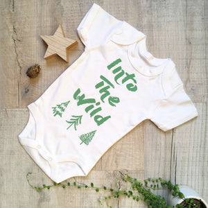 Into the Wild Bodysuit - Unisex Baby - Babygro - Little Drop In The Ocean