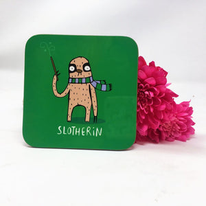 Slotherin House coaster - Katie Abey - Magical