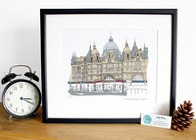 Load image into Gallery viewer, Leeds Kirkgate Market Print - Accidental Vix Prints - Leeds illustrations