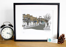 Load image into Gallery viewer, Ilkley Print - The Grove - Accidental Vix Prints - Yorkshire illustrations